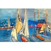 Sailing Boats in Trouville. By Raoul Dufy