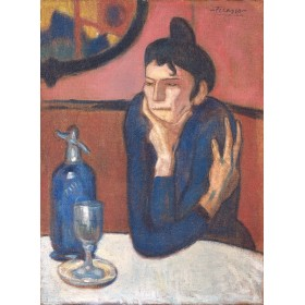 Absinthe Drinker. By Pablo Picasso