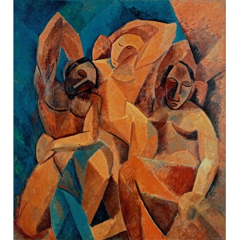 Three Women. By Pablo Picasso