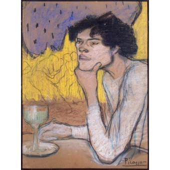 Absinthe. By Pablo Picasso
