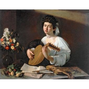 Lute Player. By Michelangelo Merisi da Caravaggio