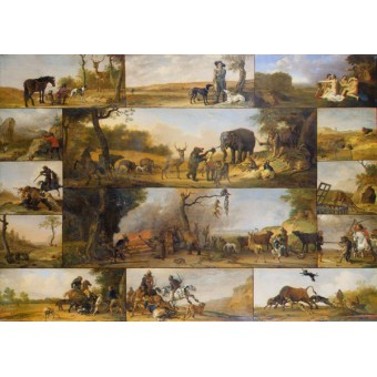 Punishment of a Hunter. By Paulus Potter