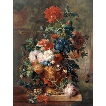 Flowers. By Jan van Huijsum