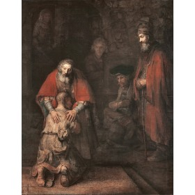 The Return of the Prodigal Son. By Rembrandt Harmensz van Rijn