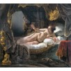 Danae. By Rembrandt Harmensz van Rijn