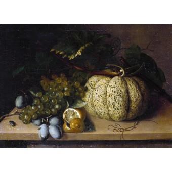 Fruit and Flowers. By Caroline Friederike Friedrich