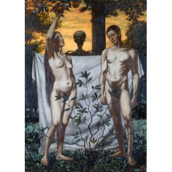 Adam and Eve. By Hans Thoma