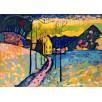 Winter Landscape. By Wassily Kandinsky