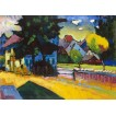 View of Murnau. By Wassily Kandinsky