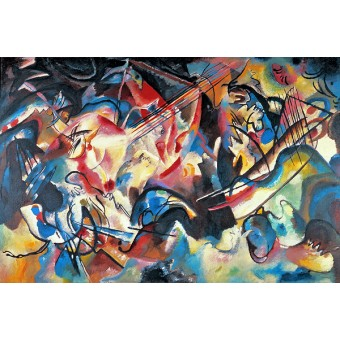 Composition VI. By Wassily Kandinsky