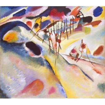 Landscape. By Wassily Kandinsky