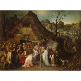 Adoration of the Magi. By Jan Brueghel The Elder (de Fluweelen Brueghel)