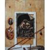 Still Life with a Skull. By Sebastiaen Bonnecroy