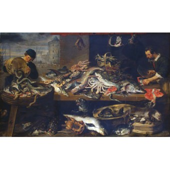 Fish Stall. By Frans Snyders