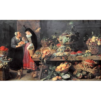 Fruit Stall. By Frans Snyders