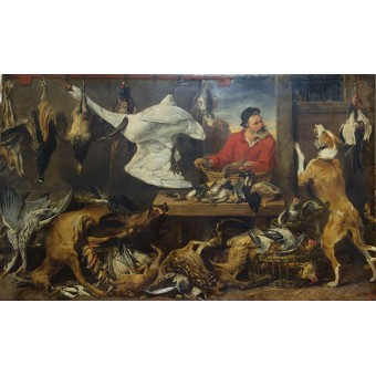 Game Stall. By Frans Snyders