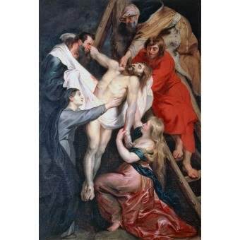 Descent from the Cross. By Pieter Paul Rubens