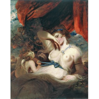 Cupid Untying the Zone of Venus. By Joshua Reynolds