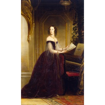 Portrait of Grand Duchess Maria Nikolayevna. By Christina Robertson