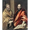 Sts Peter and Paul. By El Greco