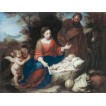 Rest on the Flight Into Egypt. By Bartolome Esteban Murillo