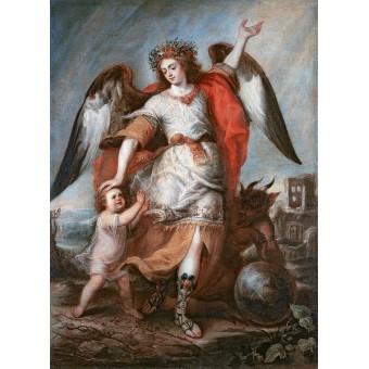 Angel of the Guard. By Antonio de Pereda