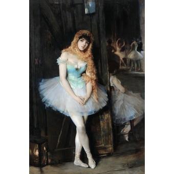Ballerina. By Vicente Palmaroli