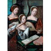 Female Musicians. By a Master of the Female Half-Lengths