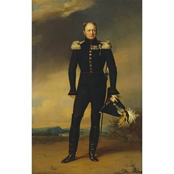 Portrait of Alexander I. By George Dawe