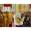 Wedding of Nicholas II and Grand Princess Alexandra Fyodorovna. By Laurits Tuxen