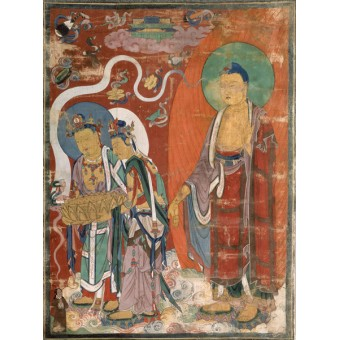 Greeting of the Soul of the Righteous Man on the Way to the Pure Land of Amitabha