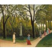 The Luxembourg Gardens. Monument to Shopin. By Henri Rousseau