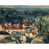 Bougival. By Maurice de Vlaminck