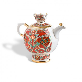 """Large teapot """"Red Rooster"""""""