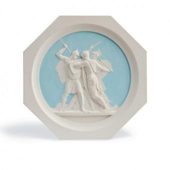 "Medallion ""Battle of Borodino, 1812"". By Fedor Tolstoy"