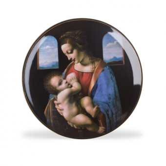 """Madonna Litta"" Decorative Plate"