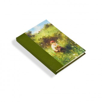 "Notebook ""A Girl in a Field"""