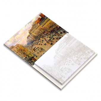 "Magnetic Notepad ""Boulevard Montmartre in Paris"""