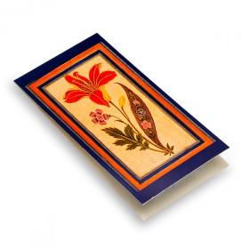 "Magnetic Bookmark ""Flower Study"""