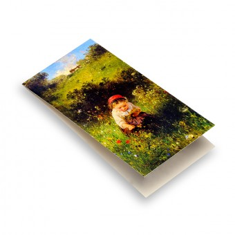 """Magnetic Bookmark """"Girl in a Field"""""""