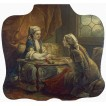 Sultan's Wife Embroidering. By Carle (Charles-Andre) Vanloo
