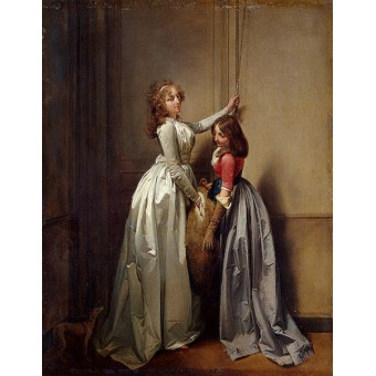 At the Entrance. By Louis-Leopold Boilly