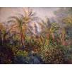 Garden in Bordighera, Impression of Morning. By Claude Monet