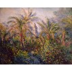 Garden in Bordighera, Impression of Morning. By Claude Monet