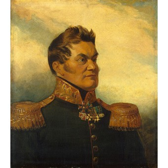Portrait of Andrey V. Bogdanovsky (1780-1864). By George Dawe and Thomas Wright