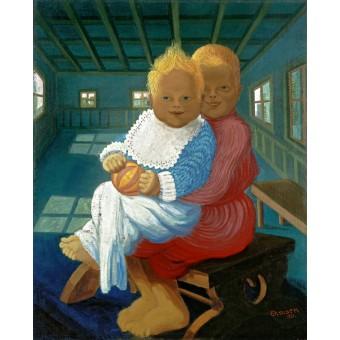 Children of the Painter. By Heinrich Ehmsen