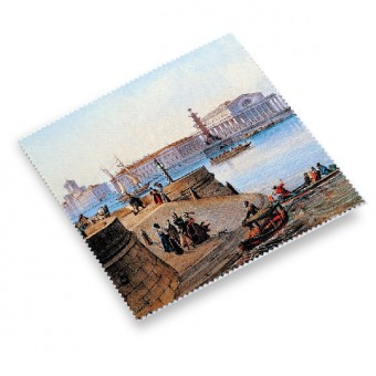 "Cloth for the Glasses ""View of the Spit of Vasilyevsky Island """