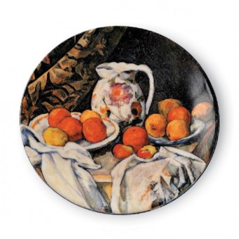 """Small Plate """"Still Life with Drapery"""""""