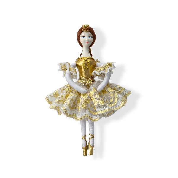 Ballerina christmas tree decoration for Ballet shoes christmas decoration