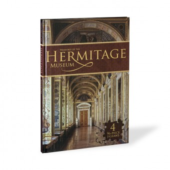 """""""Treasures of the Hermitage Museum""""  A Jigsaw Book"""